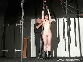 New amateur slave Honesty Cabelleros bondage and domination