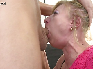 Dirty whore mother and her son s friend