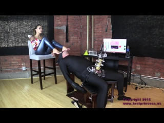 Sasha Foxxx SASHA FOXXX BRAT PRINCESS Cow Forced to Drink Contents of Enema Bag