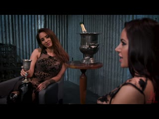 Gia Dimarco Isis Love and Alex More Lesbian BDSM Strapon