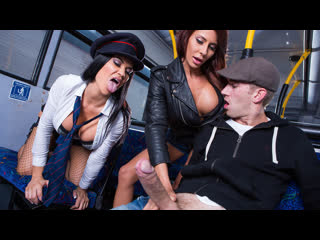 Madison Ivy Jasmine Jae Tour Of London Part One Remastered Big Tits Big Ass Blowjob Black Hair Redhead Threesome